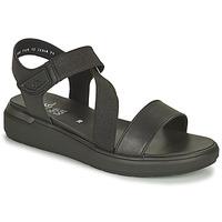 kengät Naiset Sandaalit ja avokkaat Ara IBIZA-S HIGH SOFT Musta