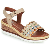 kengät Naiset Sandaalit ja avokkaat Ara CADIZ-S Beige