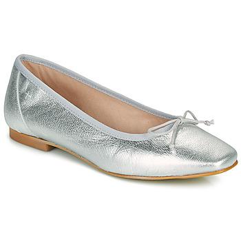 kengät Naiset Balleriinat Betty London ONDINE Hopea