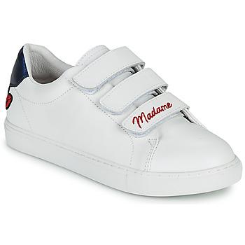 kengät Naiset Matalavartiset tennarit Bons baisers de Paname EDITH MADAME MONSIEUR Valkoinen