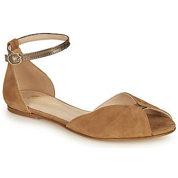 kengät Naiset Sandaalit ja avokkaat Betty London INALI Kamelinruskea