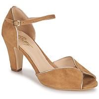 kengät Naiset Sandaalit ja avokkaat Betty London ORAD Kamelinruskea