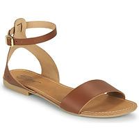 kengät Naiset Sandaalit ja avokkaat Betty London GIMY Kamelinruskea