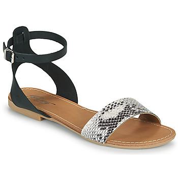 kengät Naiset Sandaalit ja avokkaat Betty London GIMY Musta / Harmaa