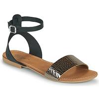 kengät Naiset Sandaalit ja avokkaat Betty London GIMY Musta / Acier
