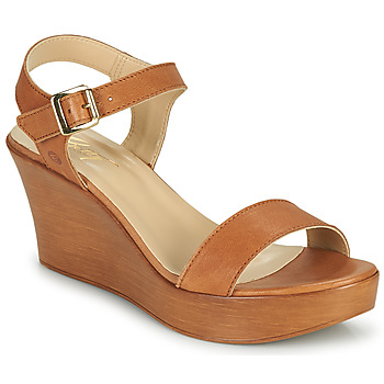 kengät Naiset Sandaalit ja avokkaat Betty London CHARLOTA Kamelinruskea