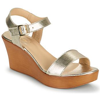 kengät Naiset Sandaalit ja avokkaat Betty London CHARLOTA Kulta