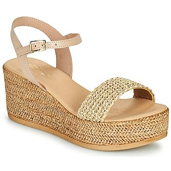 kengät Naiset Sandaalit ja avokkaat Betty London OFINI Beige