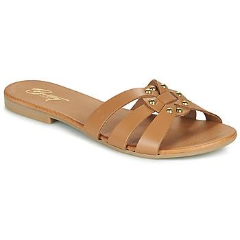 kengät Naiset Sandaalit Betty London OISO Kamelinruskea