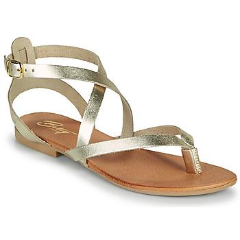 kengät Naiset Sandaalit ja avokkaat Betty London OPALACE Kulta