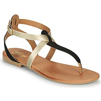 kengät Naiset Sandaalit ja avokkaat Betty London OVERNE Musta / Kulta