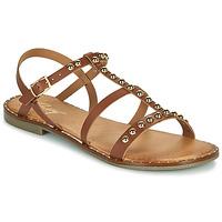 kengät Naiset Sandaalit ja avokkaat Betty London OVADE Kamelinruskea