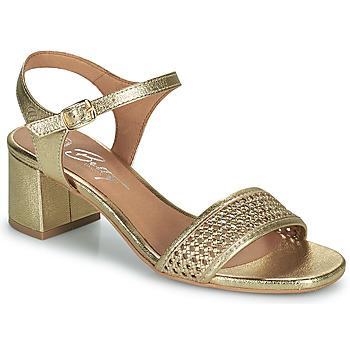 kengät Naiset Sandaalit ja avokkaat Betty London OUPETTE Kulta