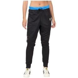 vaatteet Naiset Verryttelyhousut adidas Originals Loose Pants Mustat,Vaaleansiniset