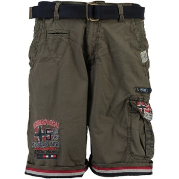 vaatteet Pojat Shortsit / Bermuda-shortsit Geographical Norway PACOME Harmaa