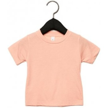 vaatteet Lapset Lyhythihainen t-paita Canvas CA3413T Peach Triblend