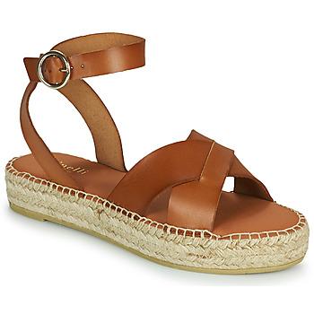 kengät Naiset Sandaalit ja avokkaat Minelli TRONUIT Ruskea
