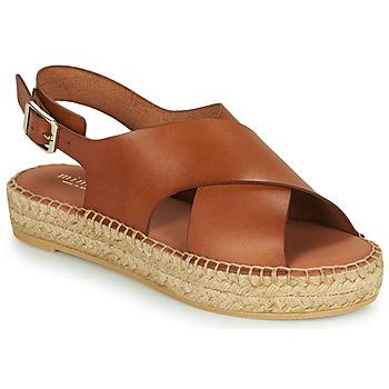 kengät Naiset Sandaalit ja avokkaat Minelli MOULTI Ruskea