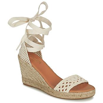 kengät Naiset Sandaalit ja avokkaat Minelli SHELLYE Vaalea