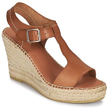 kengät Naiset Sandaalit ja avokkaat Minelli LIZZIE Ruskea