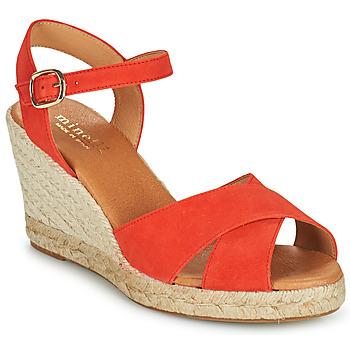 kengät Naiset Sandaalit ja avokkaat Minelli OMELLA Punainen