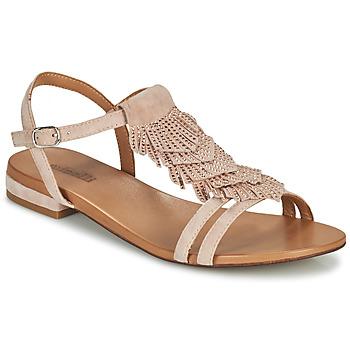 kengät Naiset Sandaalit ja avokkaat Minelli DAISY Vaaleanpunainen