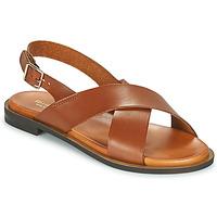 kengät Naiset Sandaalit ja avokkaat Minelli DONA Ruskea