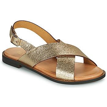 kengät Naiset Sandaalit ja avokkaat Minelli DONA Kulta