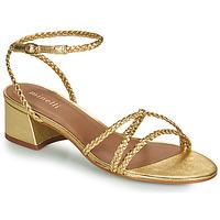 kengät Naiset Sandaalit ja avokkaat Minelli HARIETTE Kulta