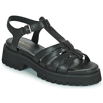 kengät Naiset Sandaalit ja avokkaat Minelli HELLHA Musta