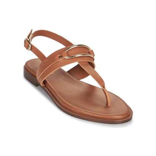 kengät Naiset Sandaalit ja avokkaat Minelli LIZA Ruskea