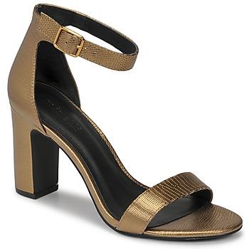 kengät Naiset Sandaalit ja avokkaat Minelli CHELYE Pronssi