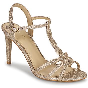 kengät Naiset Sandaalit ja avokkaat Minelli CHADA Kulta