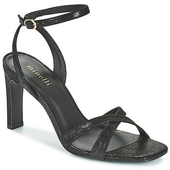 kengät Naiset Sandaalit ja avokkaat Minelli THIPHANNIE Musta