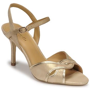 kengät Naiset Sandaalit ja avokkaat Minelli PHILOMENE Kulta