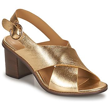 kengät Naiset Sandaalit ja avokkaat Minelli THIVIYA Kulta
