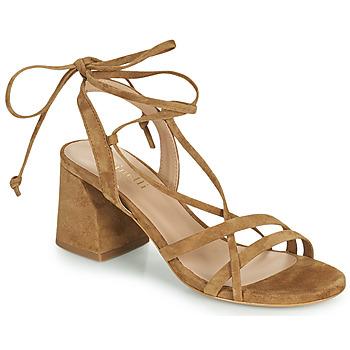 kengät Naiset Sandaalit ja avokkaat Minelli TATIA Ruskea