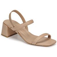 kengät Naiset Sandaalit ja avokkaat Minelli TEILYE Beige