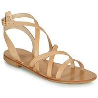 kengät Naiset Sandaalit ja avokkaat Minelli HOULLY Beige