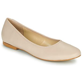 kengät Naiset Balleriinat So Size JARALUBE Beige