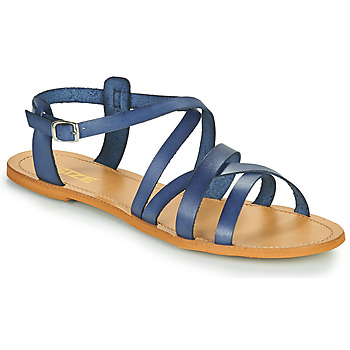 kengät Naiset Sandaalit ja avokkaat So Size IDITRON Laivastonsininen