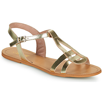 kengät Naiset Sandaalit ja avokkaat So Size DURAN Kulta