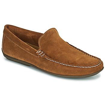 kengät Miehet Mokkasiinit So Size MIJI Kamelinruskea