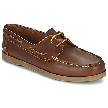kengät Miehet Purjehduskengät So Size MALIK Ruskea