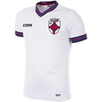 vaatteet Miehet Lyhythihainen t-paita Copa Football Maillot Copa Angleterre blanc