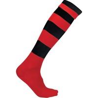 Asusteet / tarvikkeet Sukat Proact Chaussettes de sport  Cerclées rouge clair/jaune clair