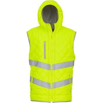 vaatteet Neuleet / Villatakit Yoko Doudoune  Haute Visibilité jaune