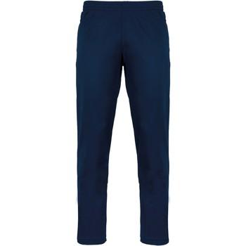 vaatteet Verryttelyhousut Proact Pantalon de survêtement bleu marine