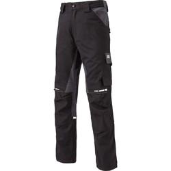 vaatteet Reisitaskuhousut Dickies Pantalon  Gdt Premium noir/gris