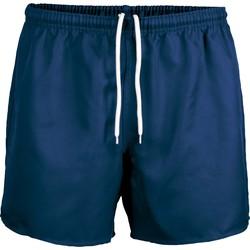 vaatteet Shortsit / Bermuda-shortsit Proact Short Praoct Rugby bleu royal/bleu